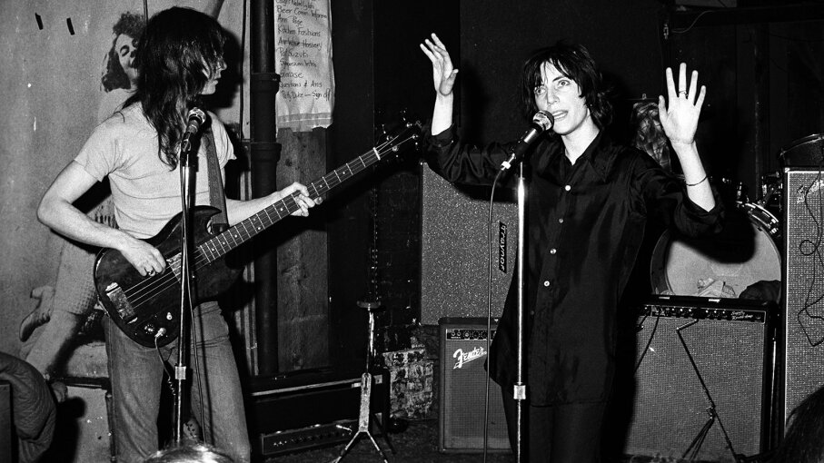 Patti Smith at CBGB