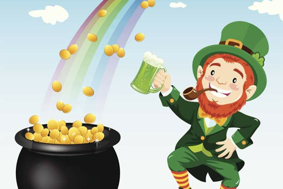 10: There's a Pot of Gold at the Rainbow's End - 10 Myths About