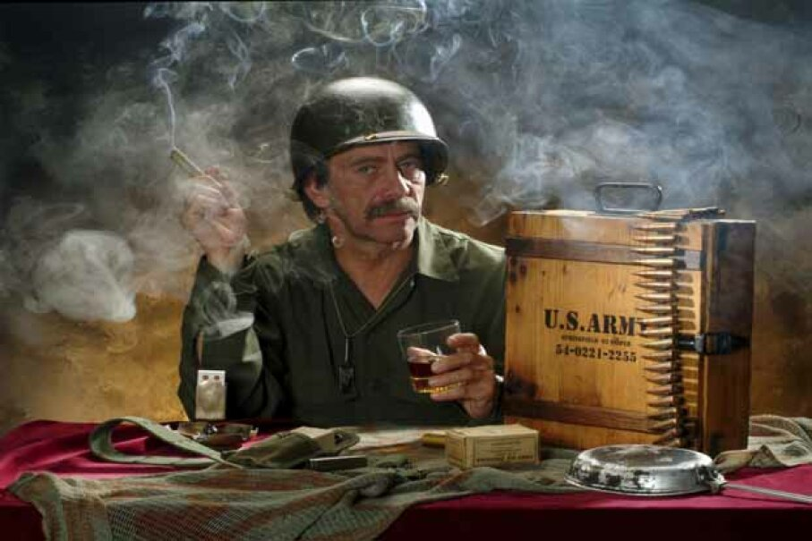 Soldiers now had a patriotic reason to smoke thanks to experiments the U.S. Army carried out on synthetic pot. iStockphoto/Thinkstock