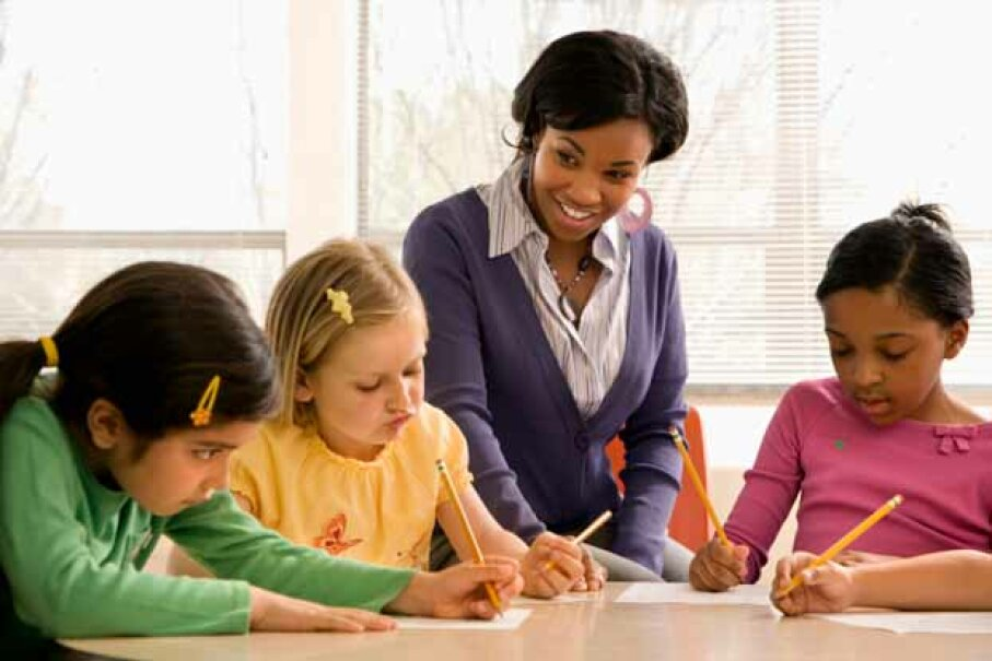 Math and science teachers are always in demand. iStock/Thinkstock