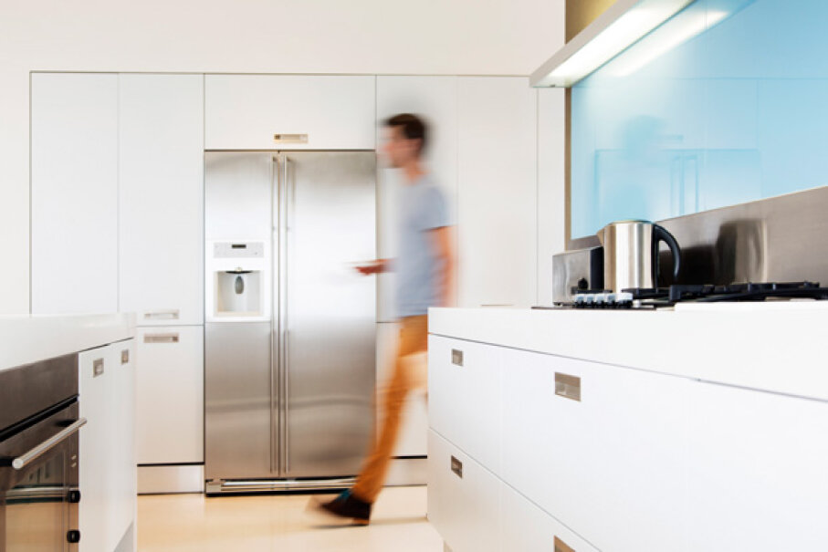 How would you deal with a refrigerator arriving on your doorstep with no installation plan? Astronaut Images/Getty Images