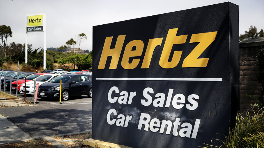 Hertz is one of several car rental companies to offer its cars for sale. Buyers beware: You should have a qualified mechanic with no stake in the sale check out the car before you sign the dotted line. Justin Sullivan/Getty Images