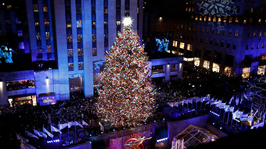 86th Annual Rockefeller Center Christmas Tree lighting, NYC