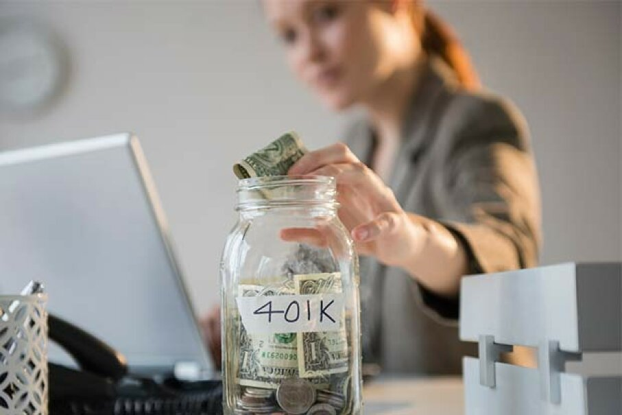 Which jar should your retirement money go into: traditional 401(k) or Roth 401(k)? Jamie Grill/Getty Images