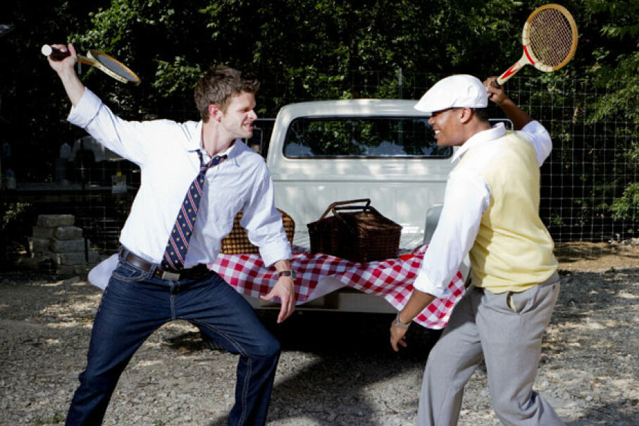Starting a brawl is an obvious way to ruin the fun at a family gathering, but there are so many other ways to destroy the festivities. ©iStockphoto.com/Jennifer Steck