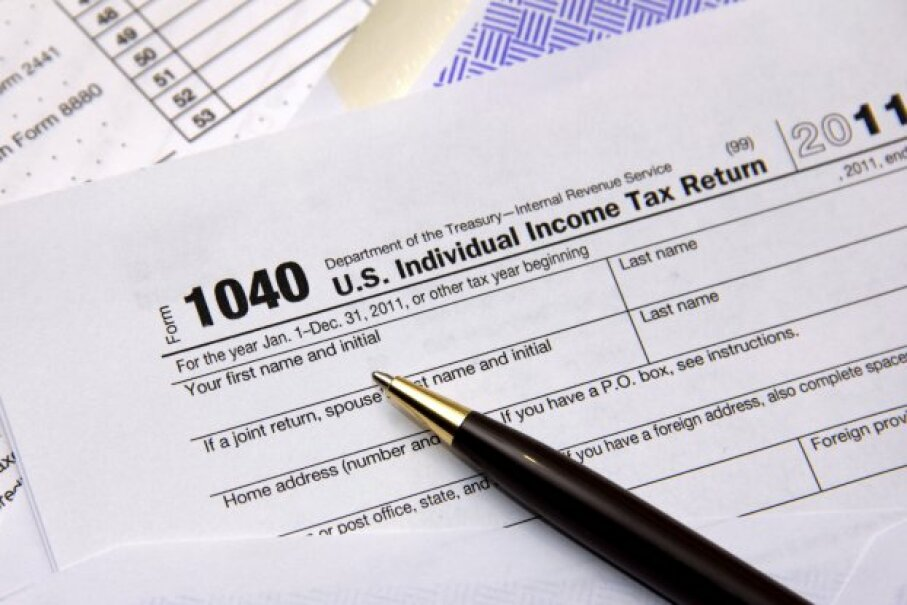 If you were legally married before the federal government recognized your marriage, you may want to file amended federal tax returns for those in-between years. pkstock/iStockphoto/ThinkStock