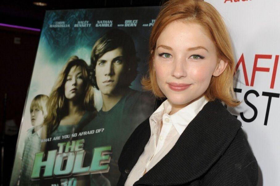 "Haley Bennett played Julie in Joe Dante's 2009 movie ""The Hole,"" another cinematic experience in which the canine actor remains unharmed. Kevin Winter/Getty Images for AFI"