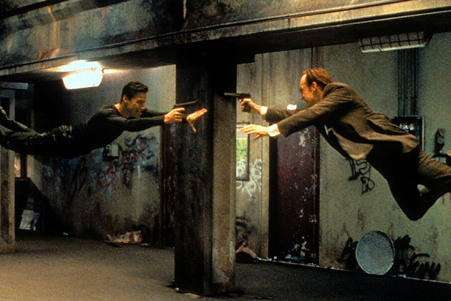 "Perhaps the things and people in our lives are merely illusions, much like ""The Matrix."" Archive Photos/Getty Images"