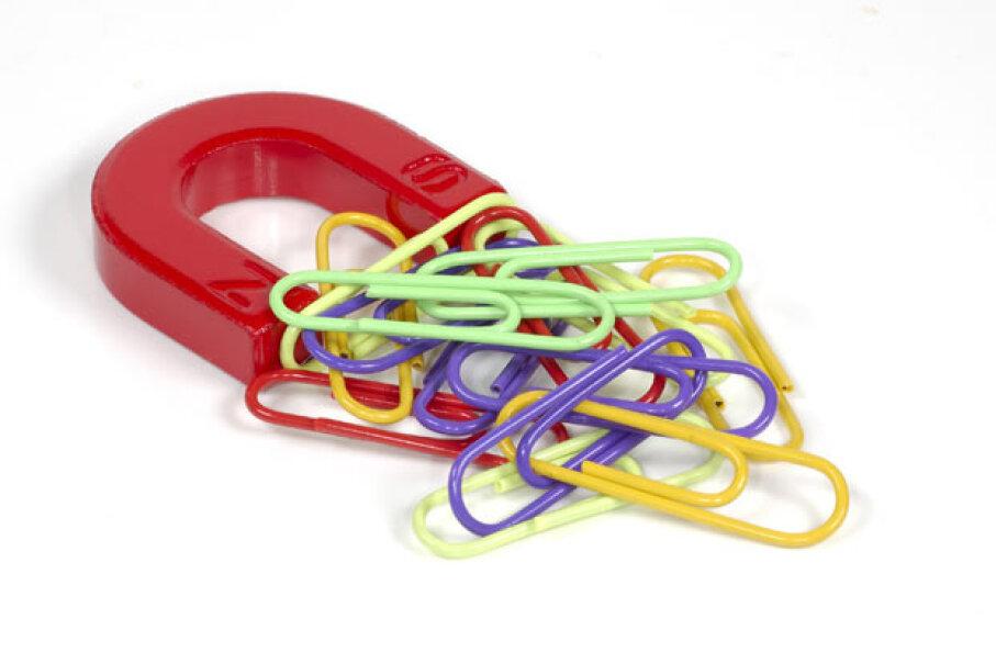 Magnets:  How do they work? iStockphoto/Thinkstock