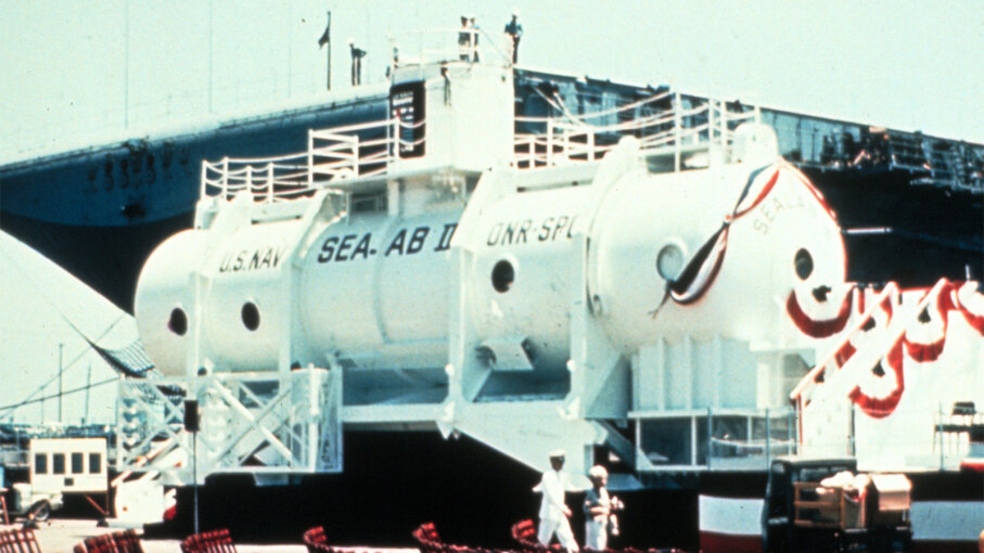 sealab 2, oceanography