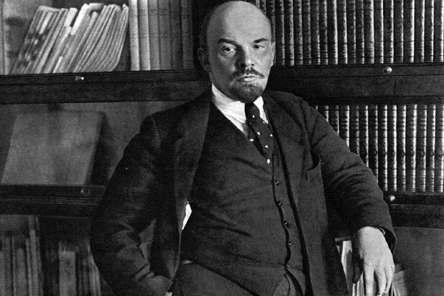 Russian Bolshevik leader Vladimir Ilich Lenin became the leader of the Bolshevik faction of the Russian Social Democratic and Labor Party in 1903. Fine Art Images/Heritage Images/Getty Images