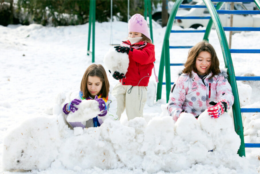 It won't last all year, so take advantage of the snow when you can. Zoran Mircetic/Getty Images