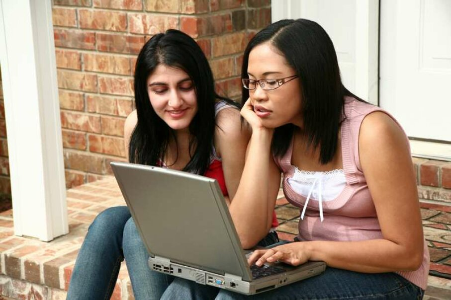 Young voters expect candidates to connect socially on the Web. Photo courtesy Dreamstime