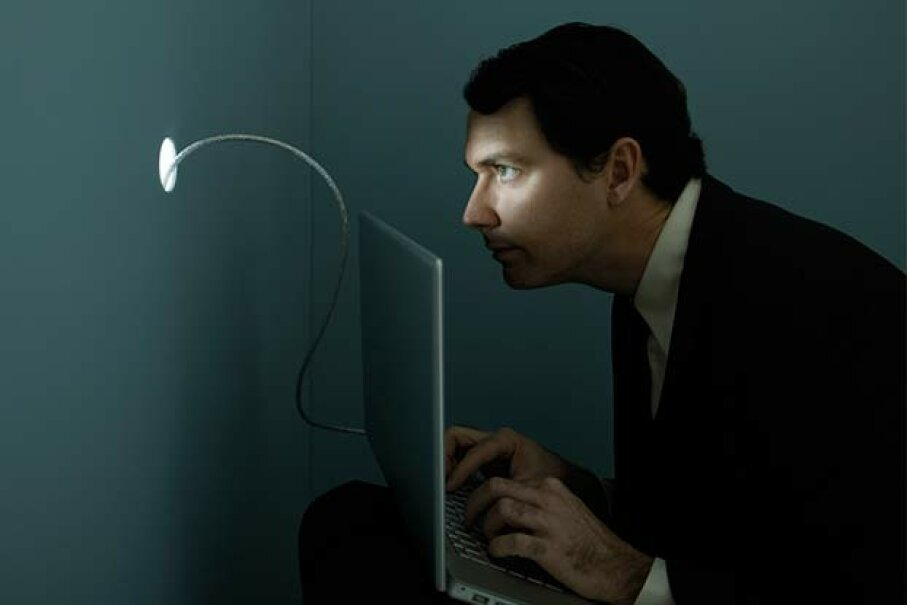 No, you don't need to install spy software to get some business intelligence. Andy Ryan/Stone/Getty Images