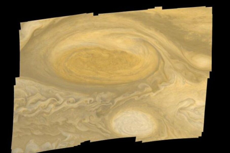 Mosaic of Jupiter's Great Red Spot, as seen by Voyager 1 Image courtesy NASA, JPL