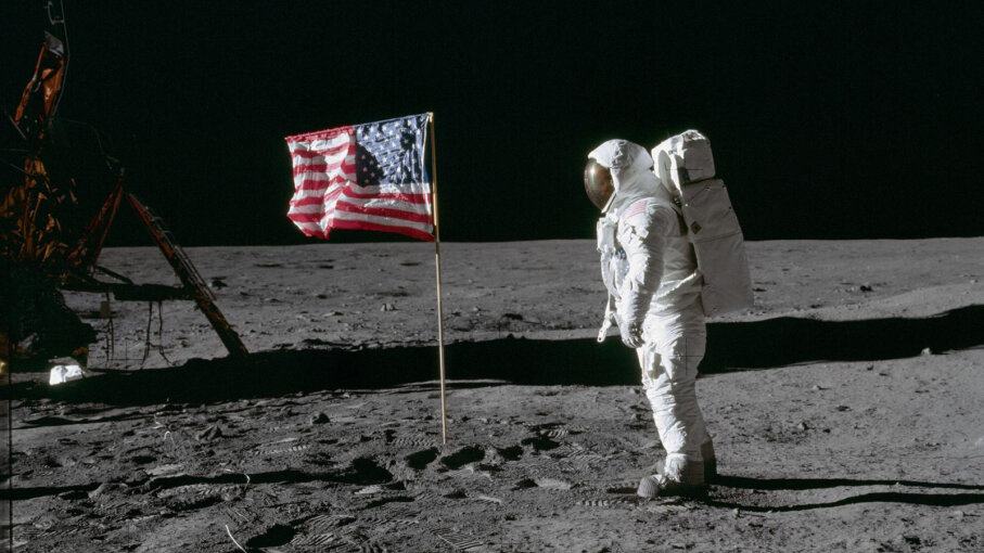 The US landed the first human on the Moon in 1969