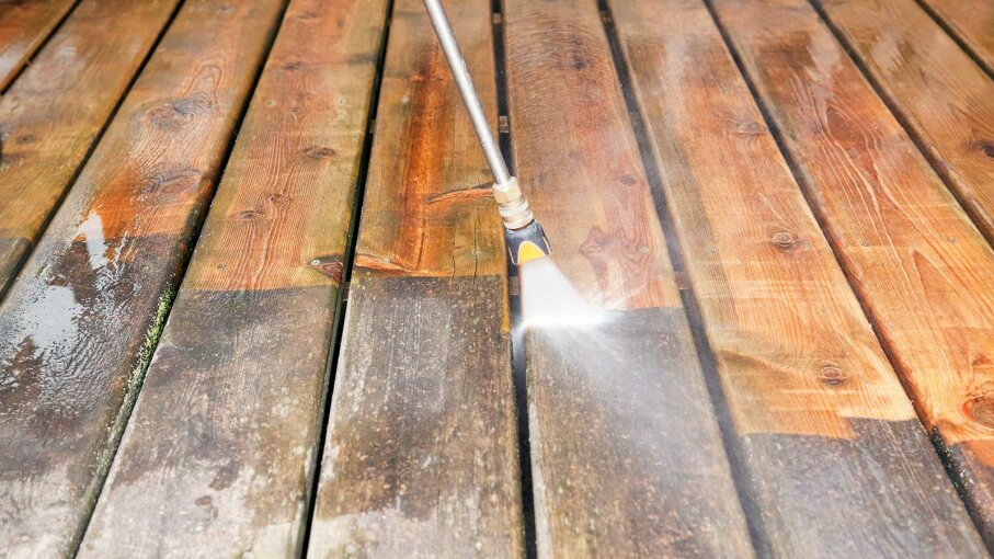 Clean Strip And Brighten Your Deck How To Stain