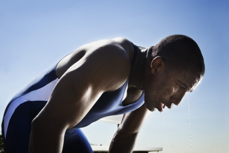 Exercise is great, stinky sweat not as much. Jupiterimages/Stockbyte/Thinkstock