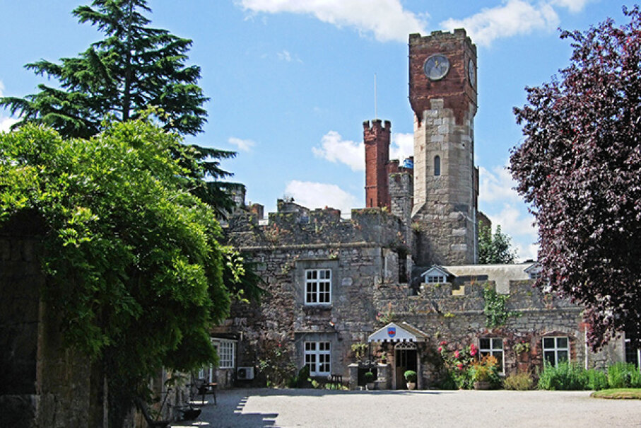 Ruthin Castle was built in 1277 and offers several medieval-themed events. Jim Linwood Under Creative Commons CC BY 2.0 License