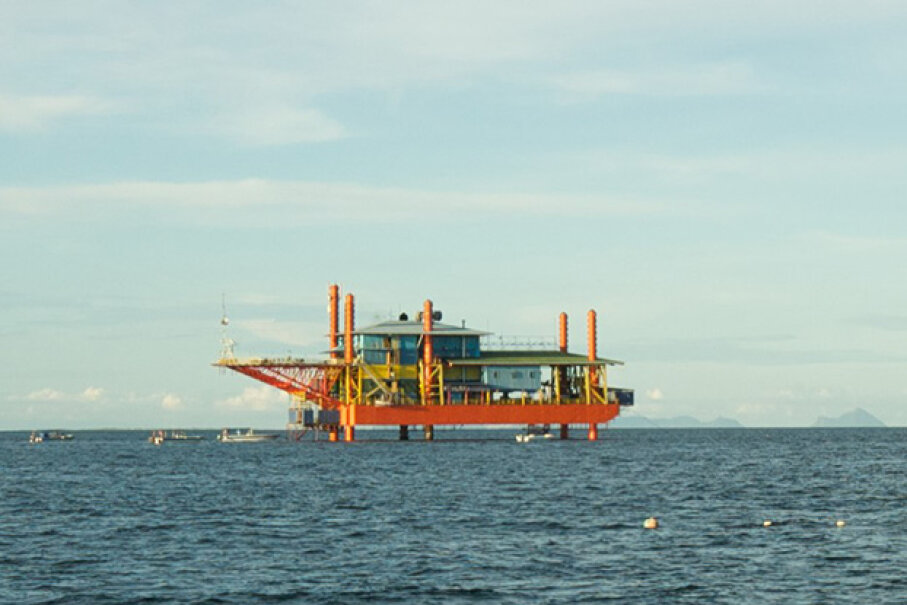 The brains behind the Seaventures Rig Resort retooled an old oil rig into a stylish escape for diving enthusiasts in Malaysia. Stephen Masters Used Under Creative Commons CC BY 2.0 License