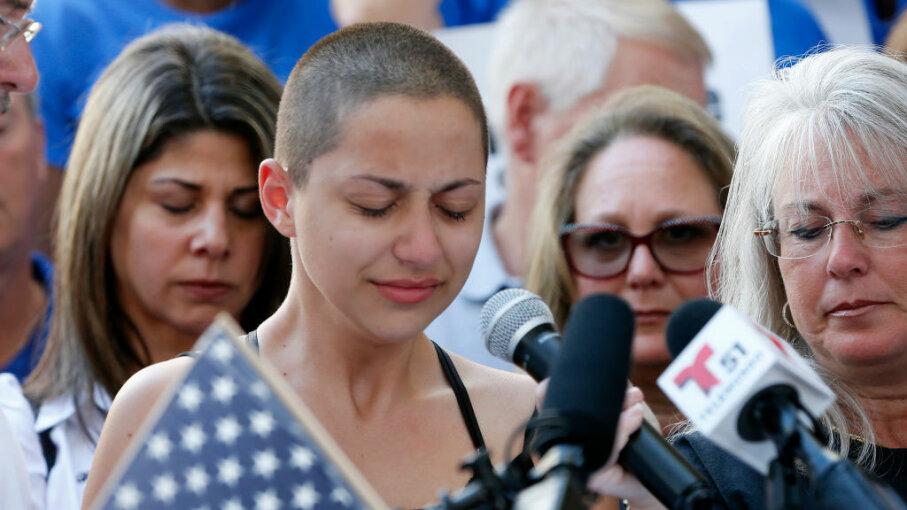 Emma Gonzalez, Marjory Stoneman Douglas High School, Florida, rally