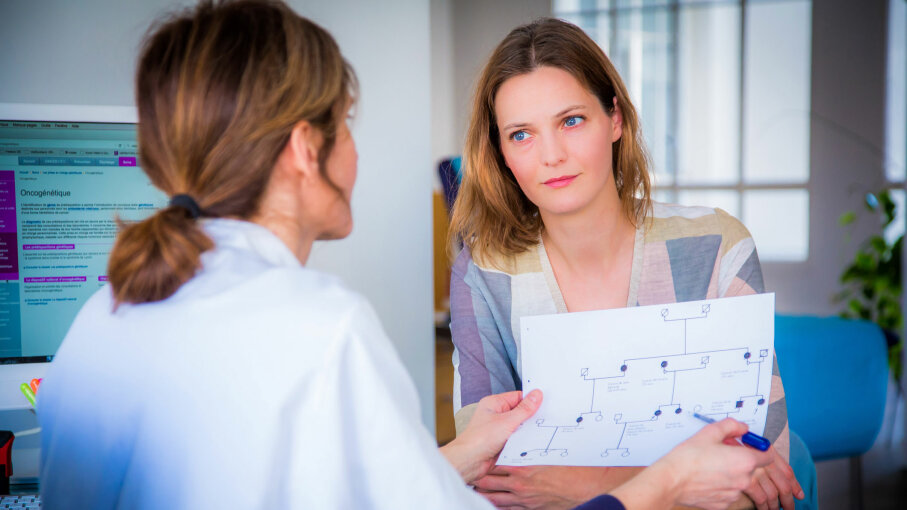 Interviewer bias could occur in medical studies when the interviewer knows the research subject's health status before questioning her. GARO/Getty Images