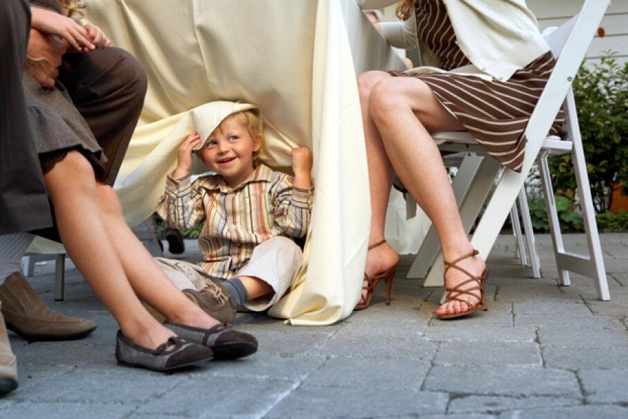 Drape away for easy fun. Noel Hendrickson/Getty Images