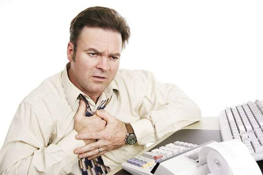 Indigestion or IRS-induced heart attack? Relax. Most of the time an audit is just a request for clarification. lisafax/iStock/Thinkstock