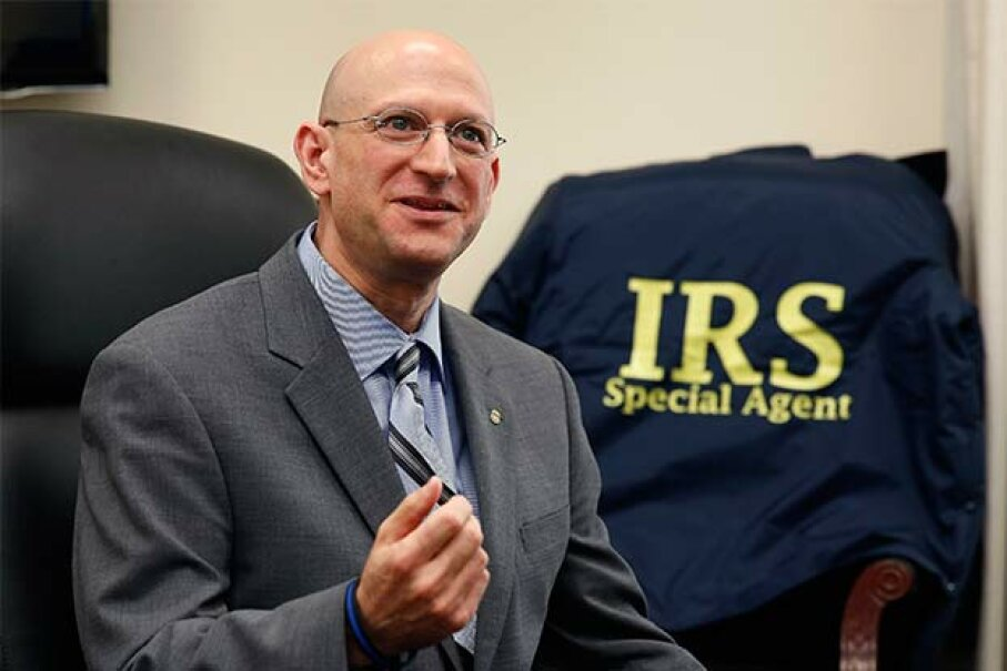 Budget pressures forced the IRS to cut its investigators to its lowest number in four decades in 2014. Criminal investigative division chief, Richard Weber, said his goal was to get the number back up to at least 3,000, from around 2,500. © LARRY DOWNING/Reuters/Corbis