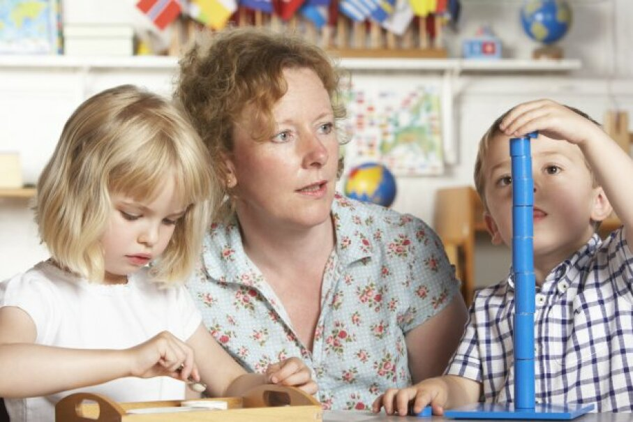 If you're paying for day care to work (or look for work), you can take the Child and Dependent Care Tax Credit. Catherine Yeulet/iStockphoto/ThinkStock