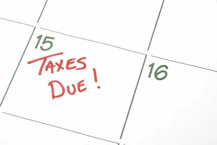 Even if you get a filing extension, you must still pay what you believe you owe by April 15. iStock/Thinkstock