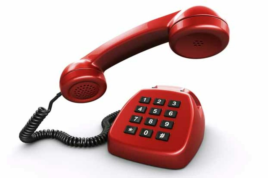 Don't underestimate the power of a good old-fashioned landline. iStockphoto/Thinkstock
