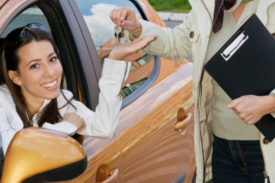 A mid-size sedan may not be the most exciting vehicle, but that's what makes it a good choice for a teen driver. ©iStock/Thinkstock