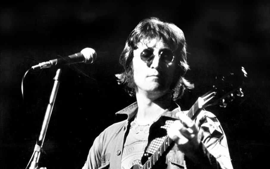 "John Lennon got back at Paul McCartney with the biting song ""How Do You Sleep?"" Thomas Monastery/NY Daily News Archive via Getty Images"