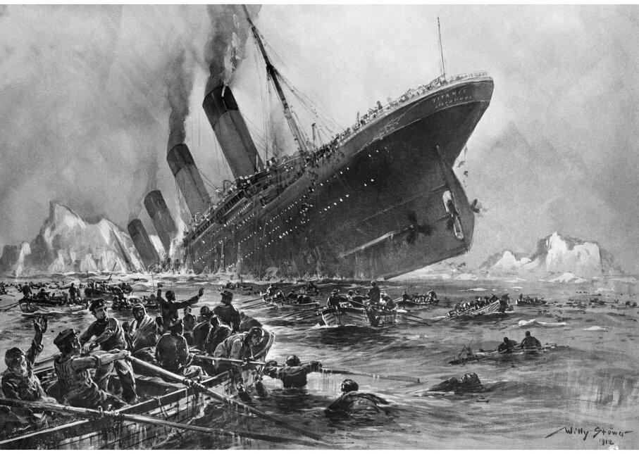 Violet Jessop, Titanic