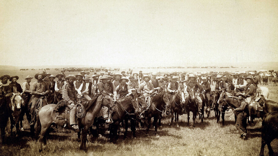 cowboys in Wyoming