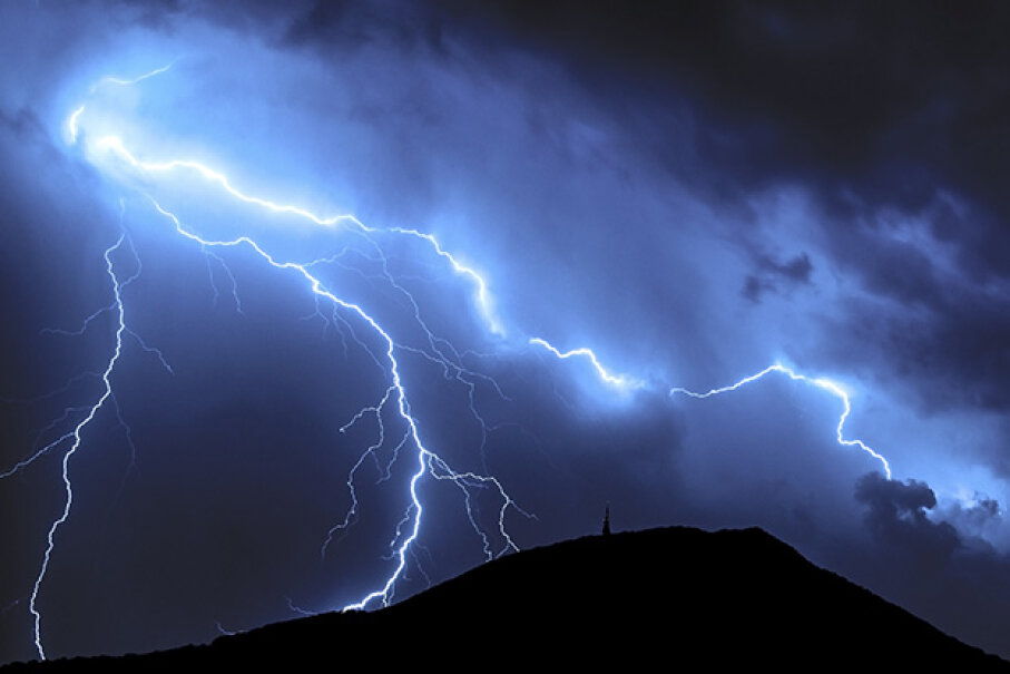 Tornadoes are rare in the mountains, but they're not unheard of. PhotoZidaric/iStock/Thinkstock