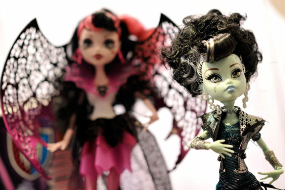 Monster High Ghouls Rule Dolls ©Gareth Cattermole/Getty Images