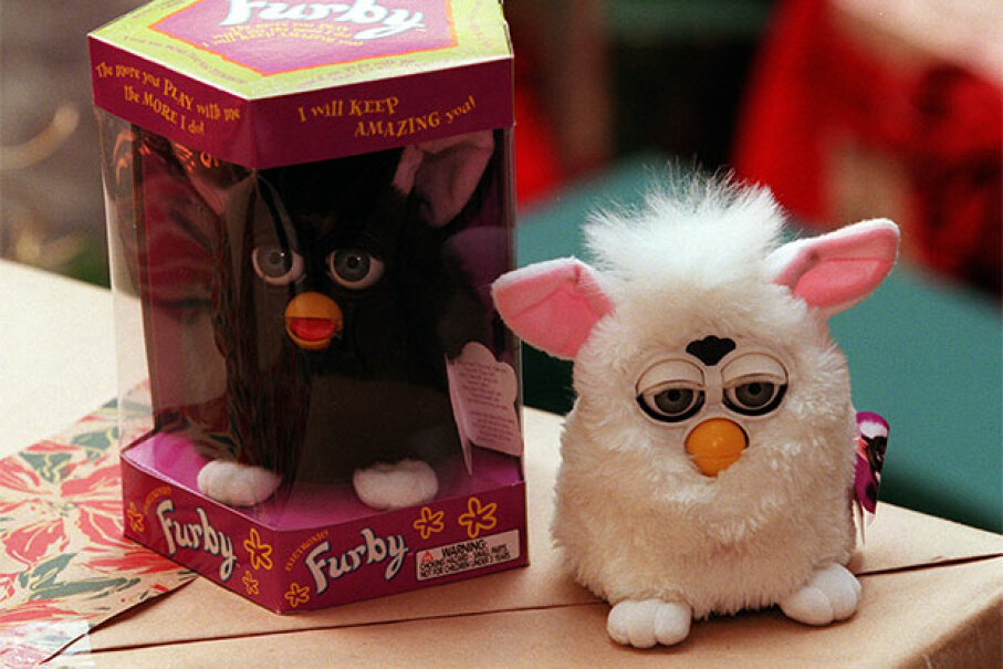 Furby was the hottest toy of the 1998 and 1999 holiday seasons. Andy Cross/The Denver Post via Getty Images
