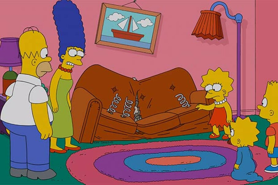 How come the Simpsons haven't aged in 25 years? Could it be due to their living in a time loop? FOX via Getty Images