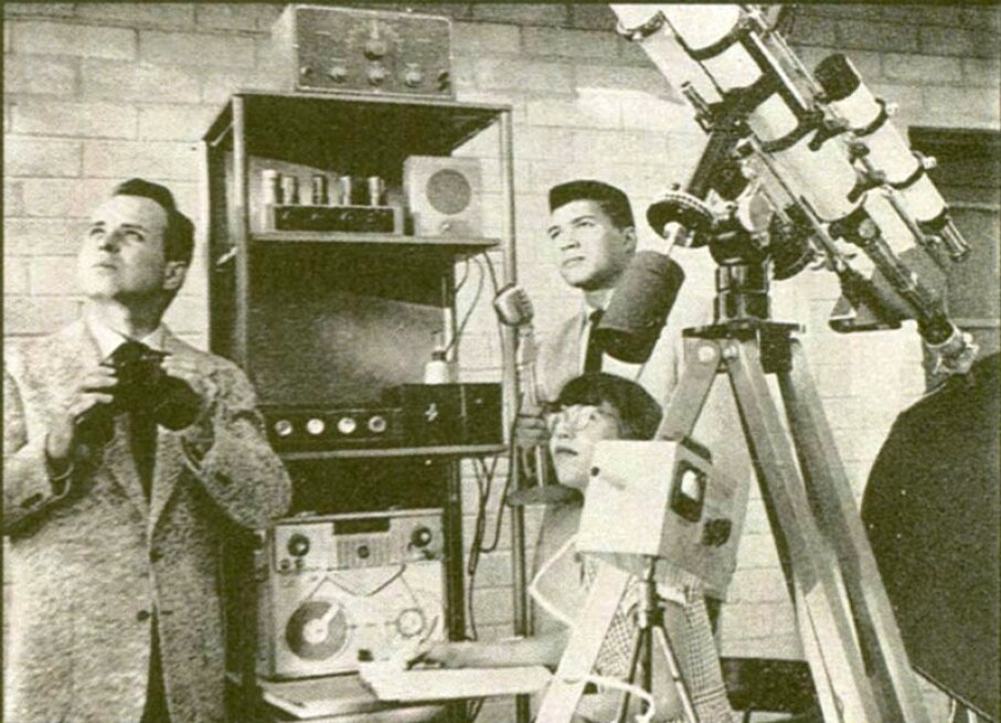In the 1950s George Hunt Williamson (left) allegedly received radio communications from extraterrestrials. He was one of the most influential figures in the contactee movement. Fortean Picture Library