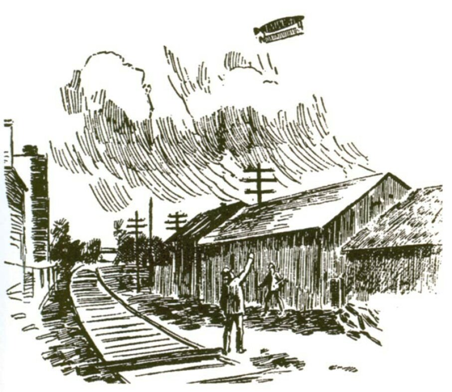 The UFO wave of 1896 and 1897 sparked great interest as well as many hoaxes. A Chicago newspaper noted an April 11 report, based on what proved to be a faked photograph. Intercontinental U.F.O. Galactic Spacecraft Research and Analytic Network Archives