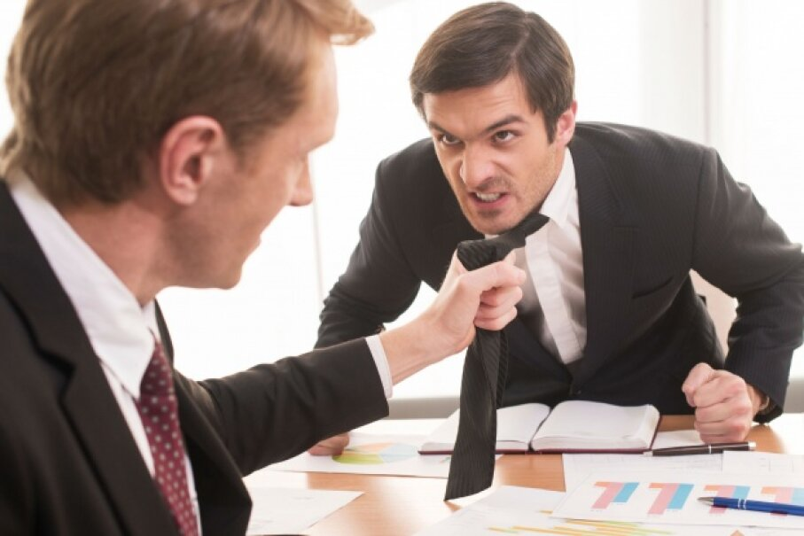 You probably don't want an accountant to be THIS aggressive. © g-stockstudio/iStockphoto
