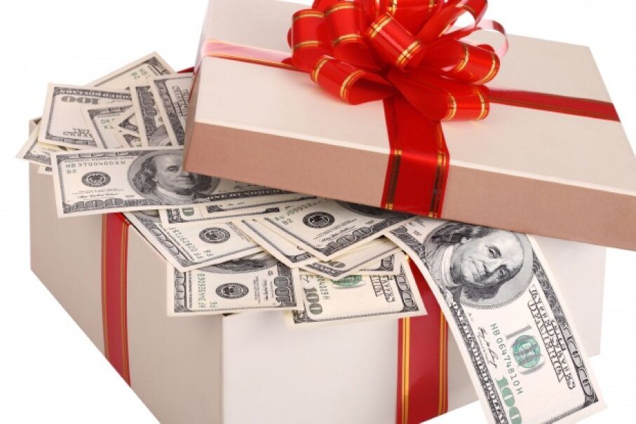 Who doesn't love a big box of money? © targovcom/iStockphoto