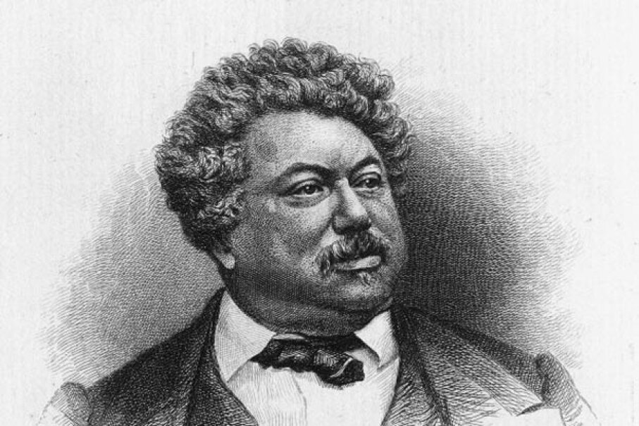 "French novelist Alexandre Dumas, author of ""The Three Musketeers,"" was the son of Gen. Alexandre Dumas and the grandson of a Haitian woman. Kean Collection/Getty Images"
