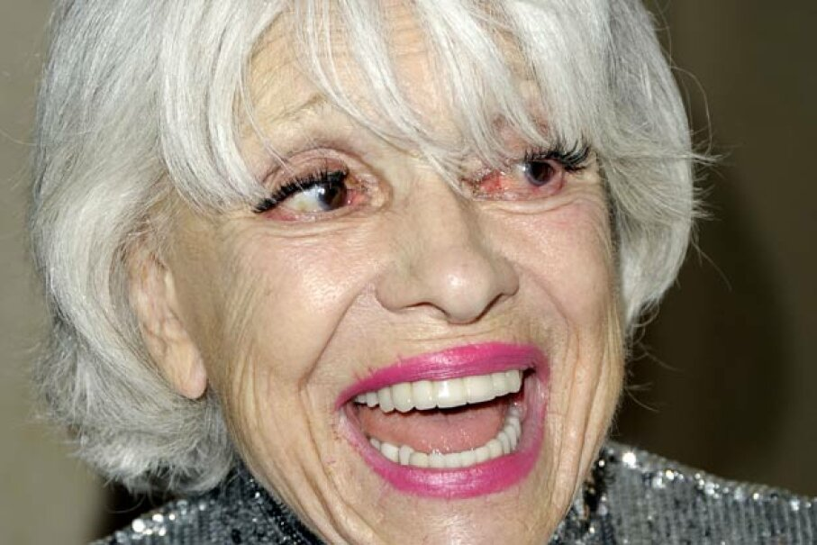 Actress Carol Channing arrives at an awards show in Los Angeles. Kevin Winter/Getty Images