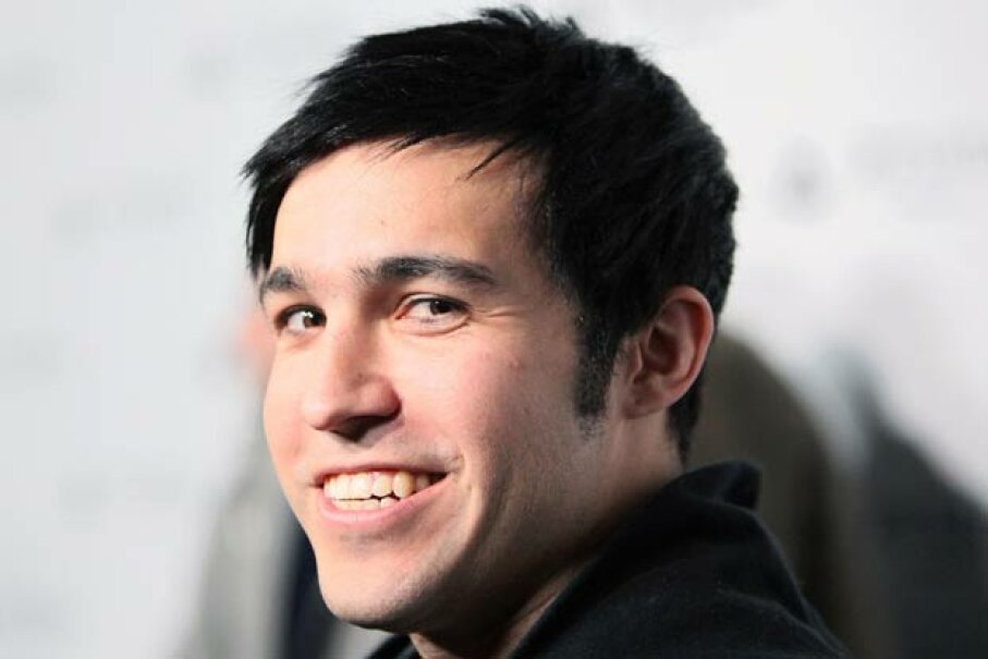 Pete Wentz sporting his signature 'do. David Livingston/Getty Images