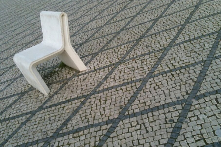 Concrete furniture is perfectly fine for outside, but is it what you're looking for in your couch potato moments jonasmout/iStock/Thinkstock