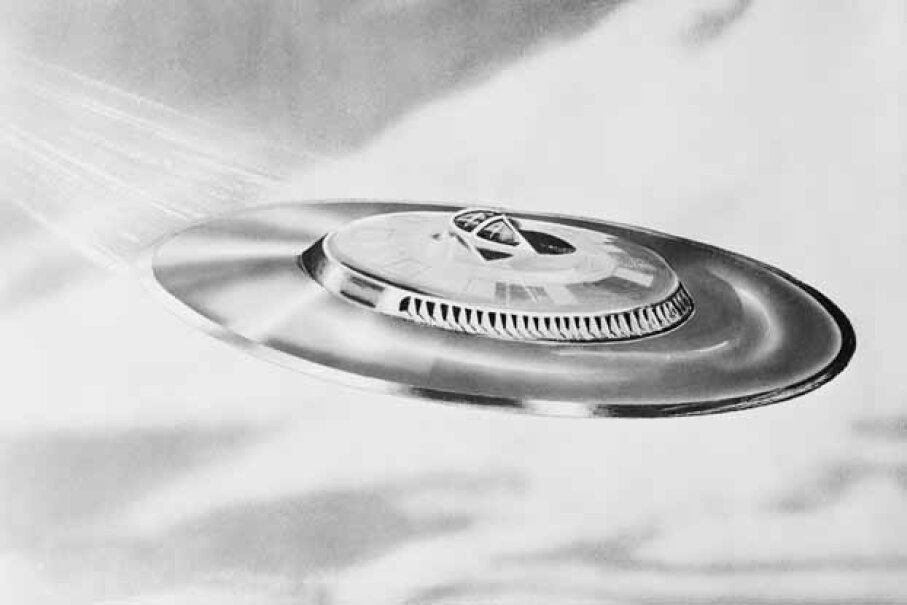 Did Capt. Mantell really see a UFO? No one knows for sure. © Bettmann/CORBIS