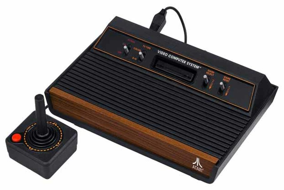 The Atari 2600's joystick can be turned into a cool TV remote control. Evan-Amos/Wikimedia Commons